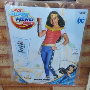 New DC superhero wonder women small 4-6 costume